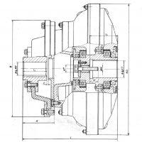 HIDRODINAMICKE SPOJNICE ZA ELEKTROMOTORE TIP 14HS - Ep